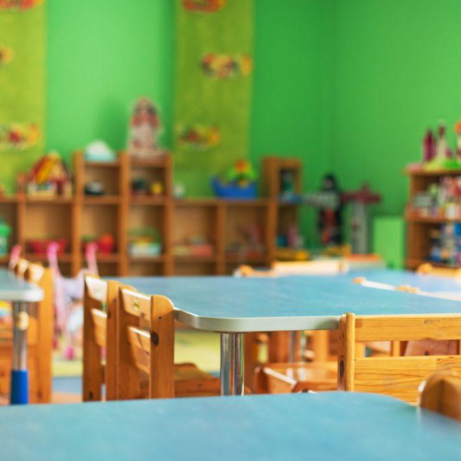 Kindergarten Reinigung